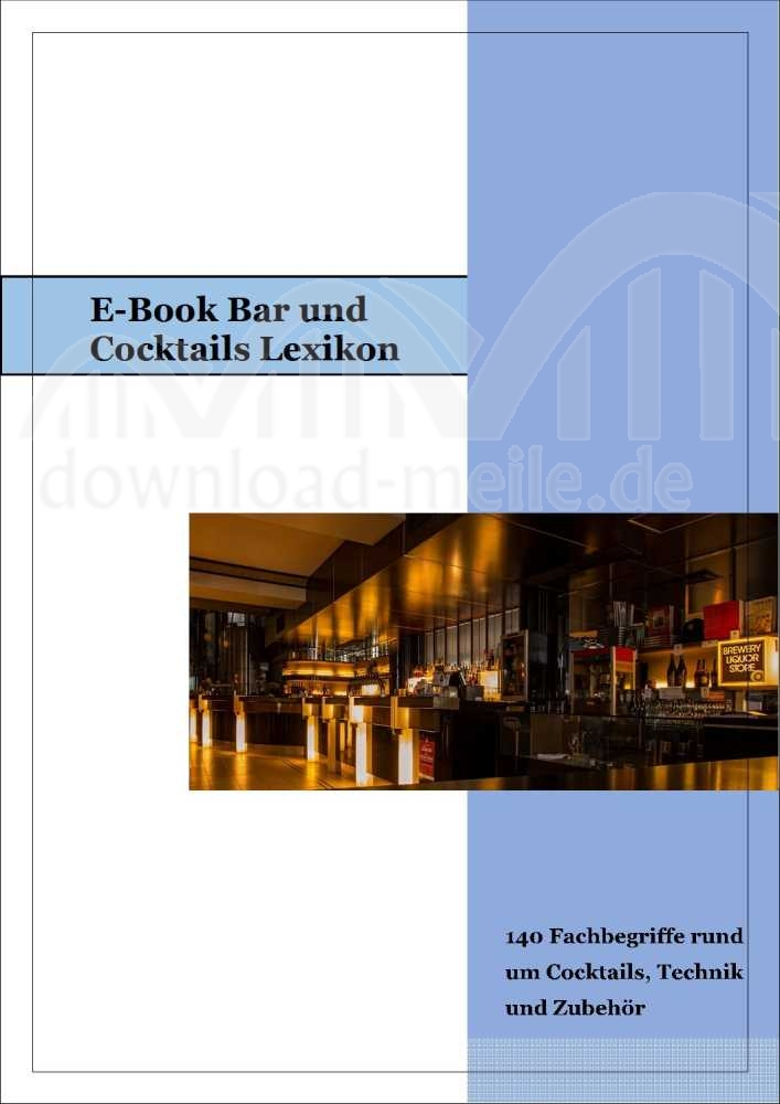 Bar Lexikon - E-Book