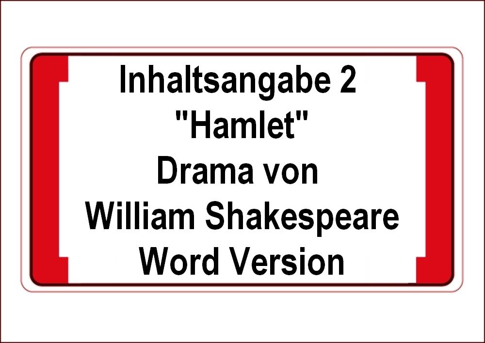 Download Meilede Inhaltsangabe 2 Hamlet Drama Von William