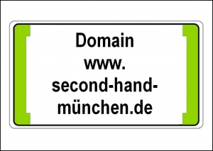 Domain www.second-hand-münchen.de